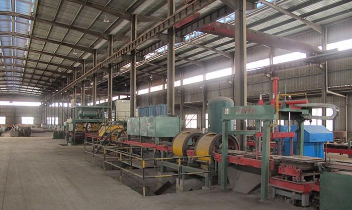 Línea de producción de revestimiento de película de hierro