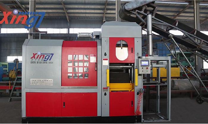 Máquina automática de moldeo horizontal