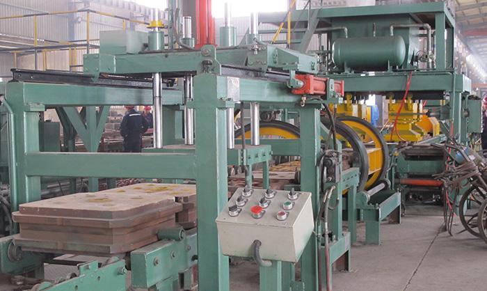 alta molienda de bolas de cromo que hace la máquina