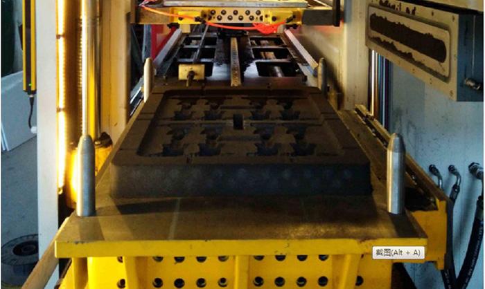Máquinas de moldeo sin matraz para piezas pequeñas