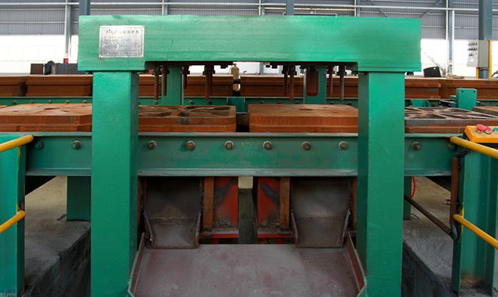 Línea horizontal automática de la máquina de moldear de la arena de Flaskless de la separación verde
